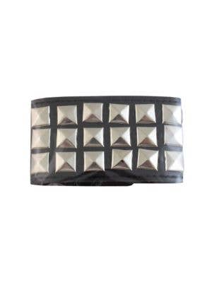 Studded Punk Wrist Band 80s Costume Accessory