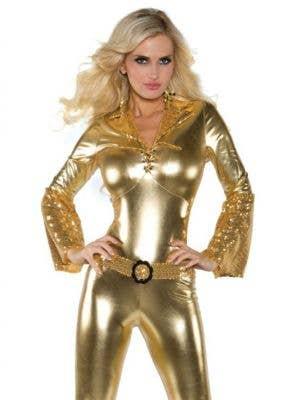 Foxy Gold Disco Diva Women's Costume