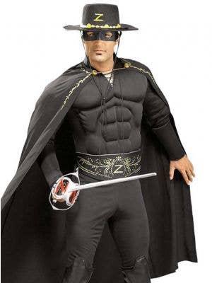 Zorro Muscle Chest Men's Costume