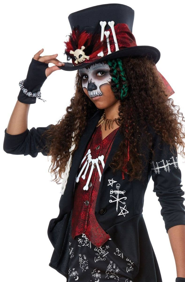Witch Doctor Teen Girls Voodoo Costume