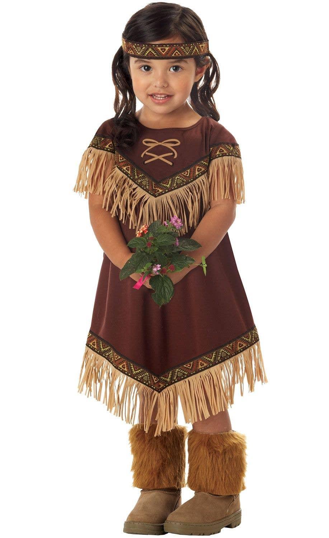 Lil' Indian Girl Native American Kids Costume