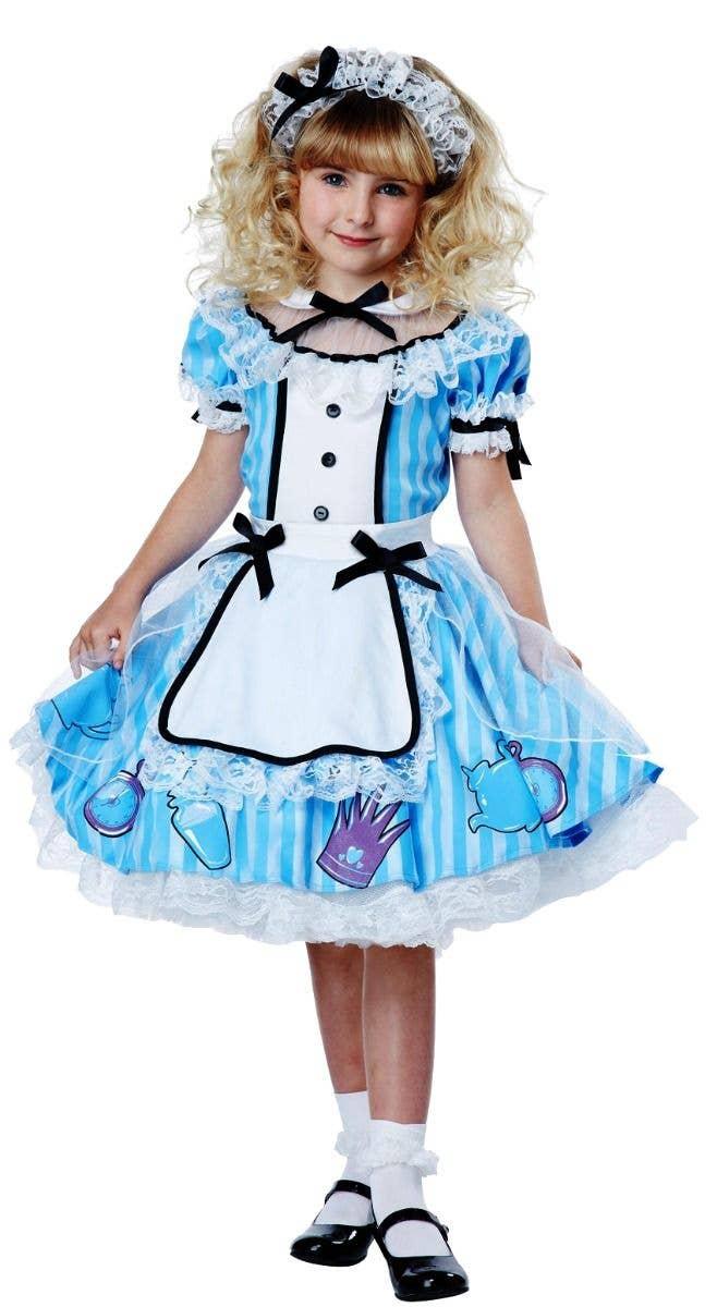 Adult Ladies Alice Costume Accessories Costume Wonderland Fairytale Book Week