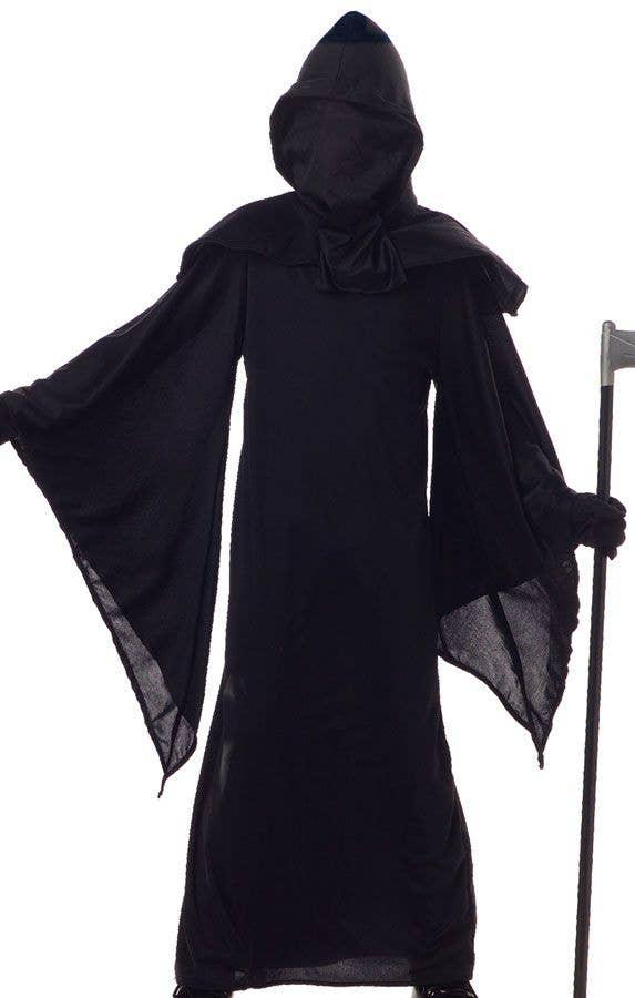 Grim Reaper Costume Kids Death Scary Halloween Fancy Dress