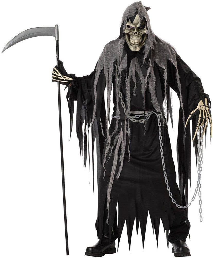 California Costumes Ancient Reaper Costume Brown Medium