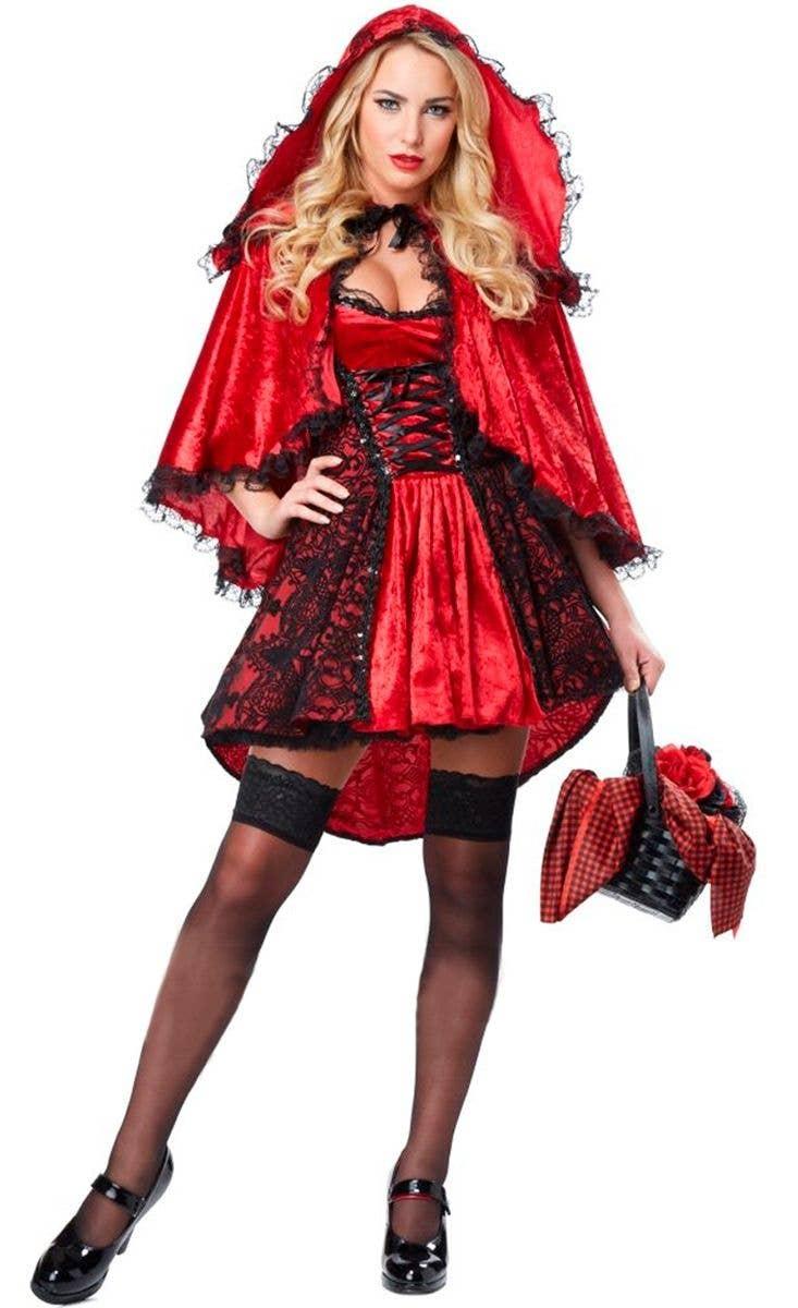 Dark Little Red Riding Hood Costume Women S Red Riding Hood Costume