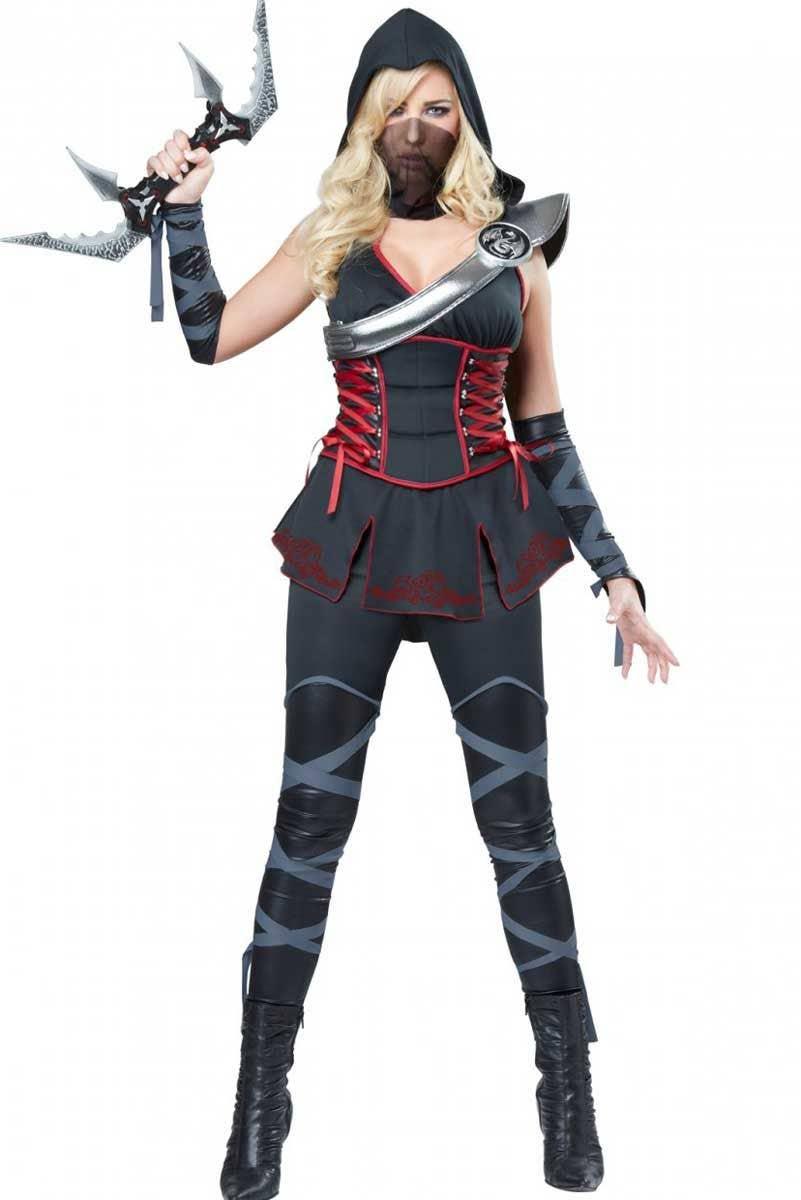 FREE STANDARD SHIPPING Ninja Costume Halloween Costume