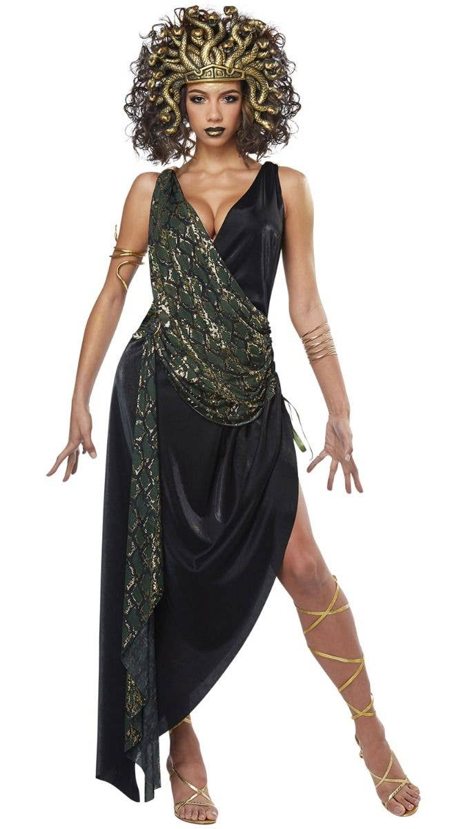 Adults Medusa Headband Ancient Greek Halloween Costume Accessory Plastic