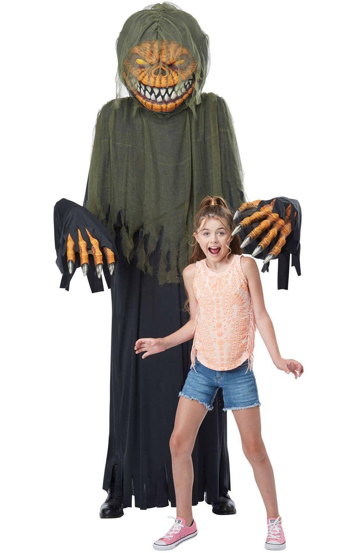 Halloween Pumpkin Face T-Shirt Glow Scary Horror Spooky Pumpkin Costume Dead Tee