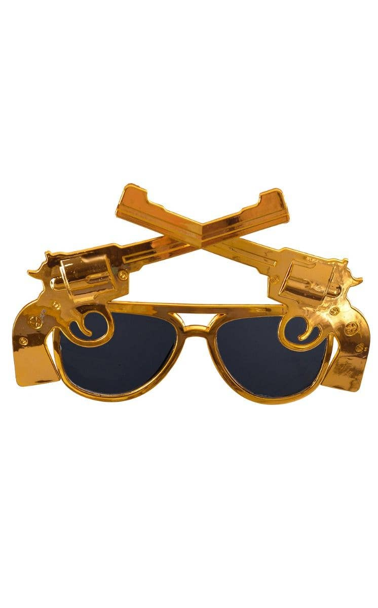 Dollar Sunglasses Gold Dollar Sunglasses Fancy Dress Accessories