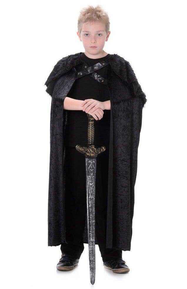 Child Halloween Cloak Boy Witch Wizard Prince Princess Girl Cloak Party Prop