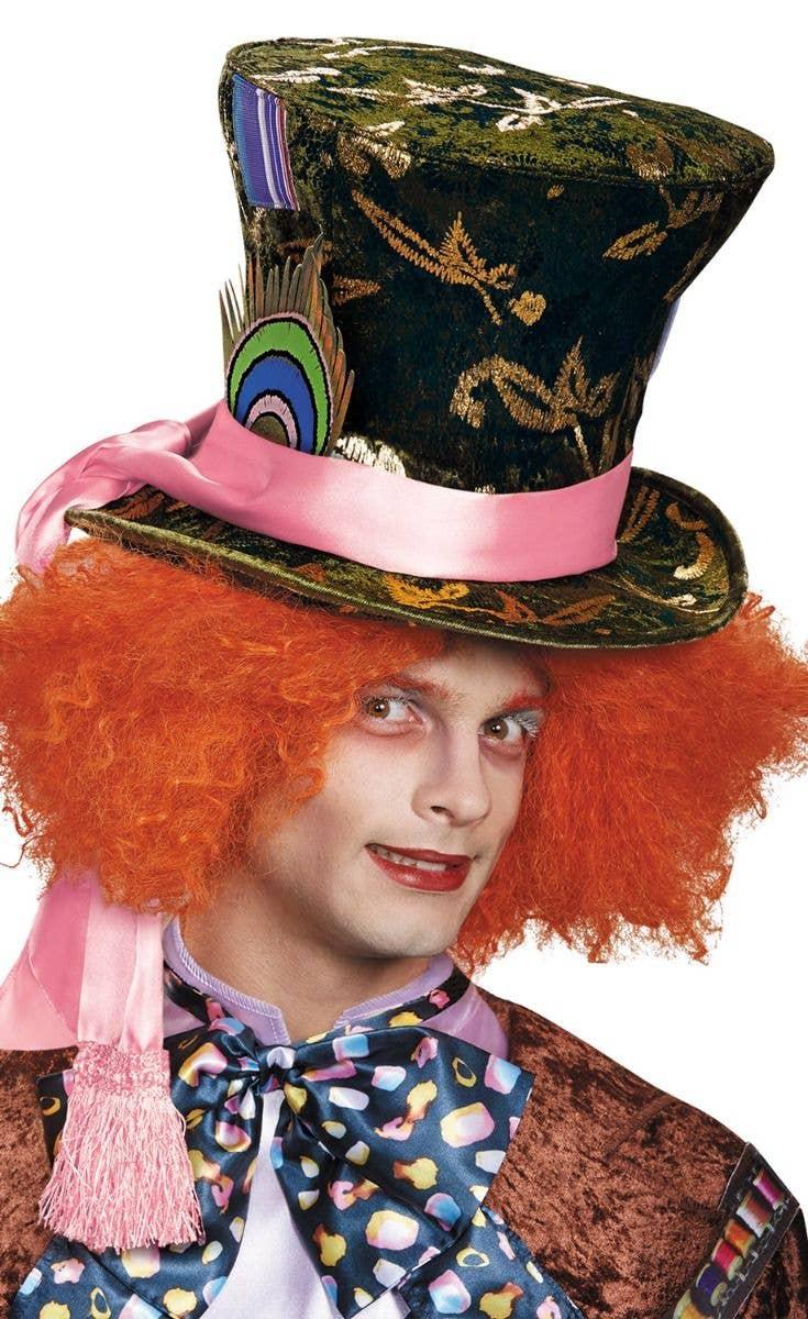 Hair Wonderland Fancy Dress Costume Book Week Accessory Mad Hatter Top Hat