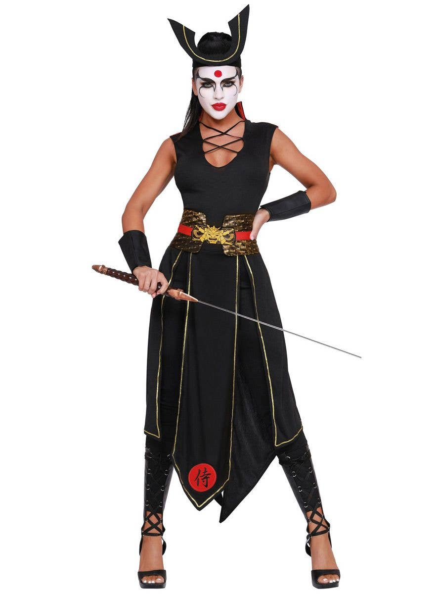 Samurai Warrior Womens Costume Japanese Samurai Costume For Women