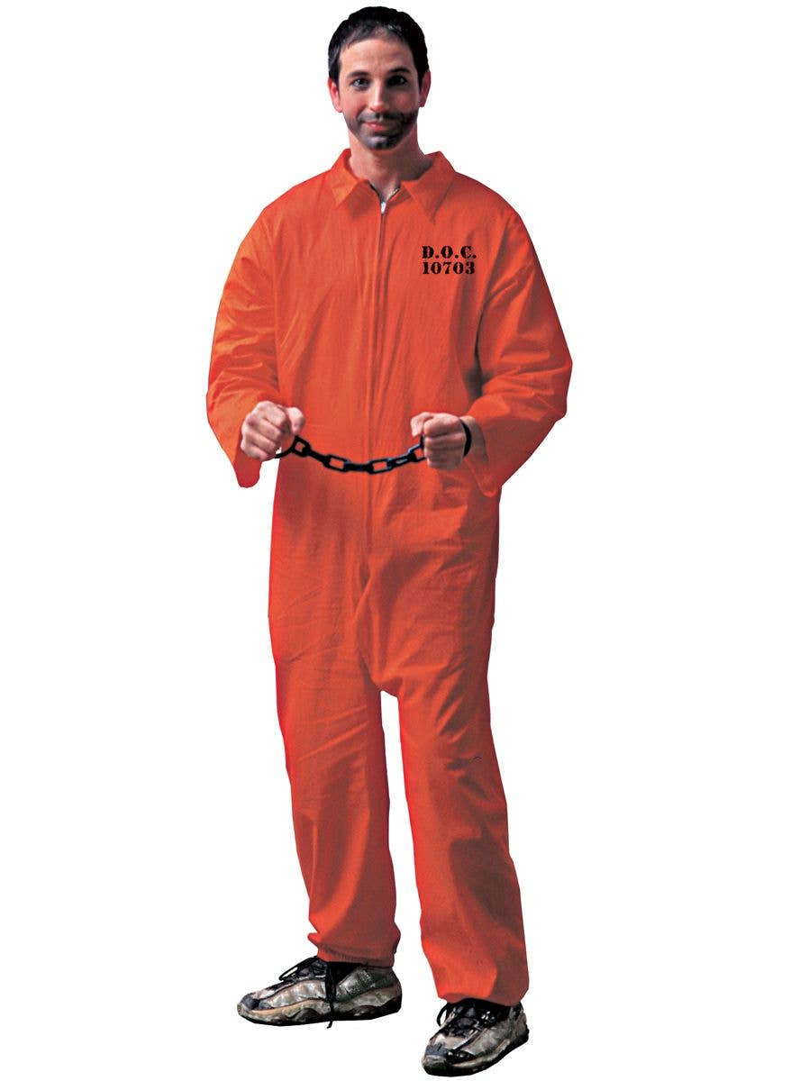 Costume 00784 Convict Chick Prisoner Costume for Women size Large New by Cal