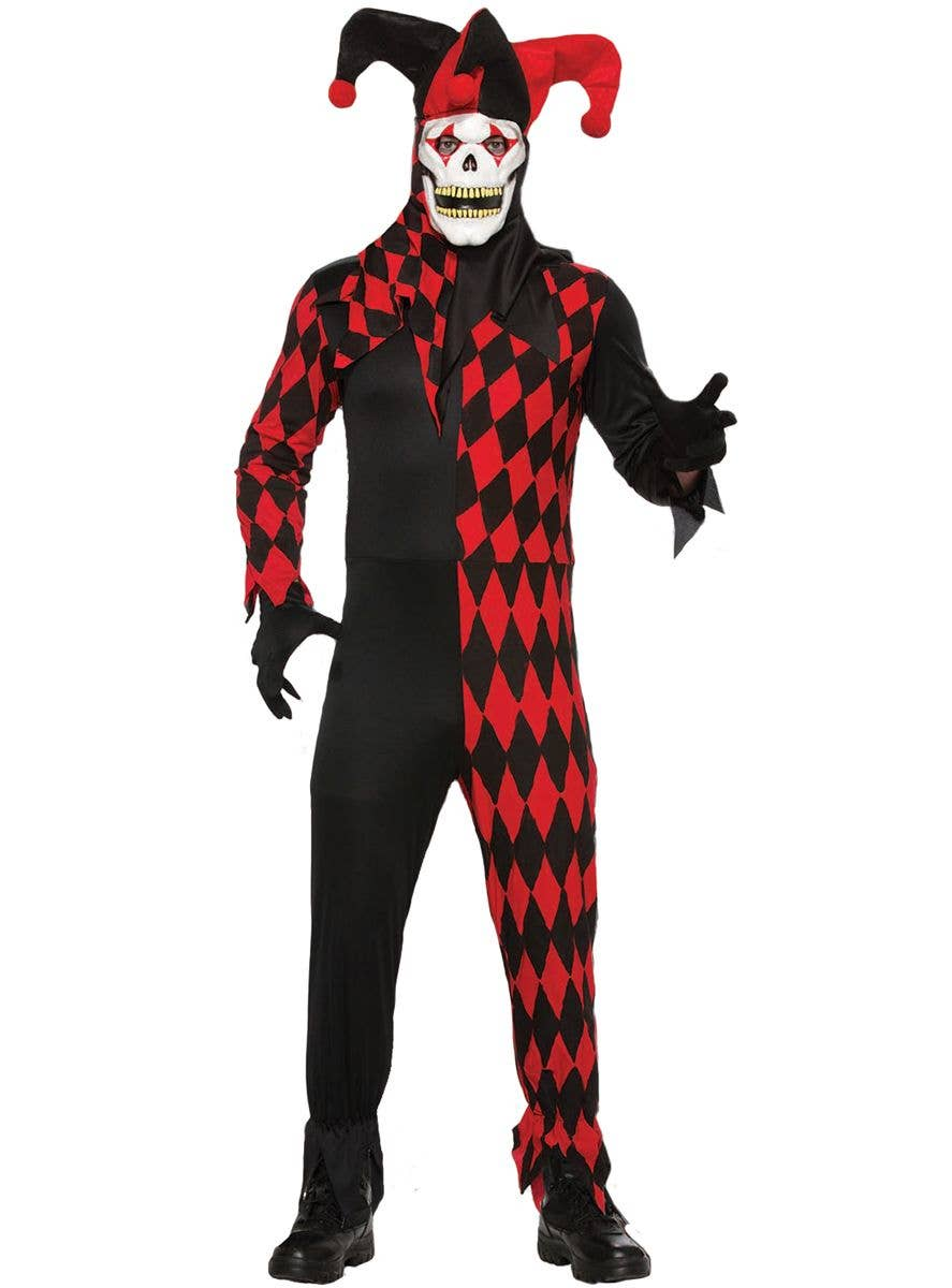 Evil Jester Clown Renaissance Jokes on You Child Costume