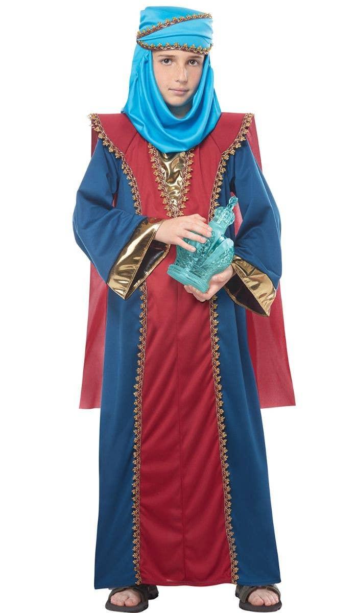 Boys Balthasar 3 Wise Men Nativity Costume Kids Christmas Costumes
