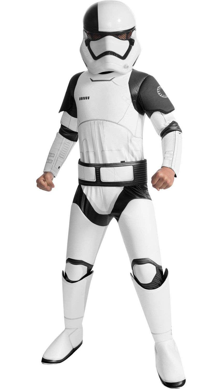 Adult DELUXE DARTH VADER or DELUXE STORM TROOPER Star Wars Fancy Dress Costume