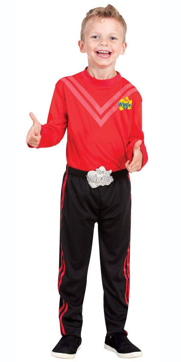 Licensed Simon Red The Wiggle Child Boys Kids Book Week Wiggles Dress Costume