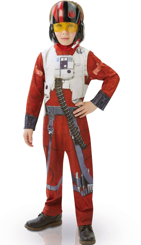 X-Wing Fighter Pilot Star Wars Fancy Dress Up Halloween Toddler Child Costume