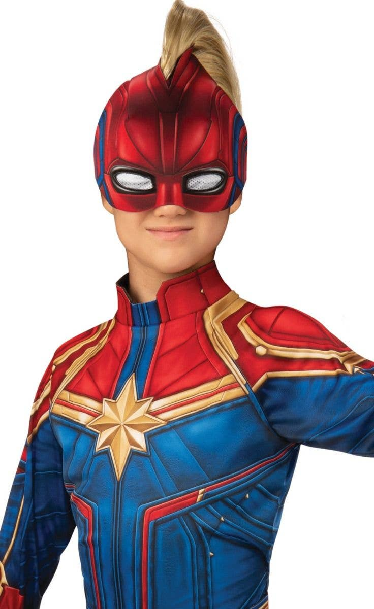 Costume Rubies Kids Official Deluxe Captain Marvel Kree Or Hero 3d Fancy Dress Costume Clothes Shoes Accessories Techsamvad Com Authentic disney parks marvel avengers captain america costume sound fx sz 3 xxs. techsamvad