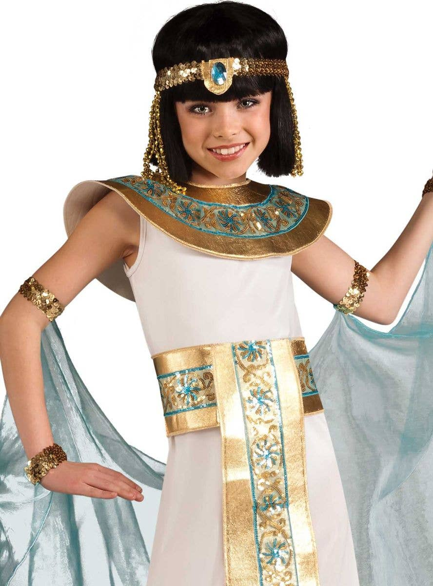 Adult Ladies Egyptian Queen Charming Cleopatra Fancy Dress Costume Book Week New