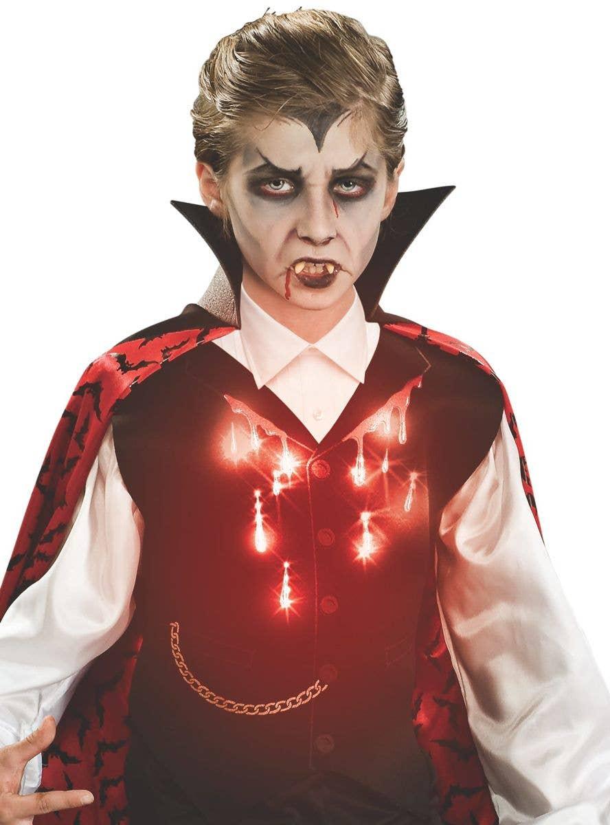 Light up vampire halloween déguisements costumes