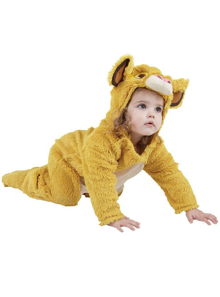Wild Lion Animal Kit With Tail Ears Adult Child Costume Circus Accessory Plush