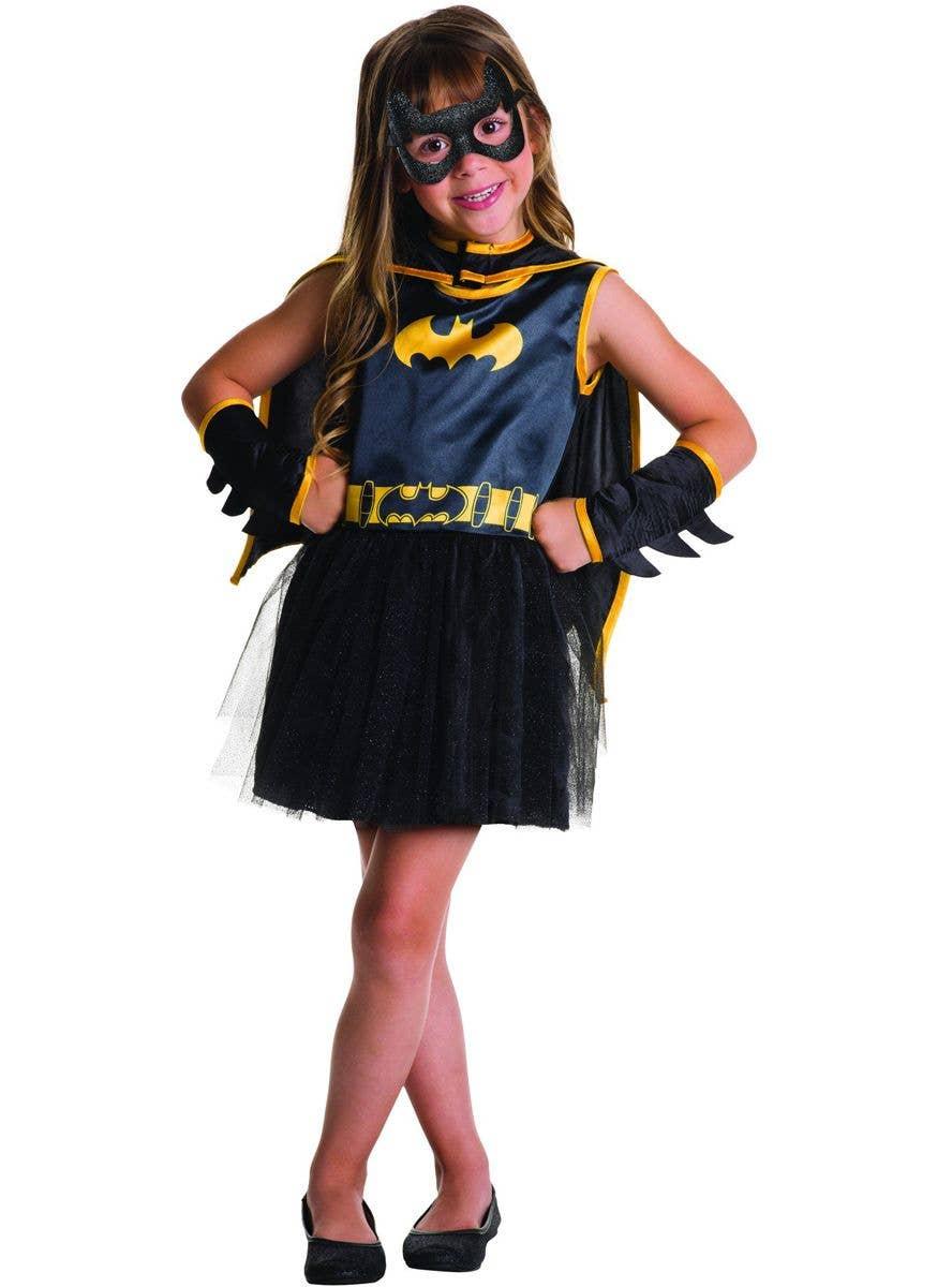 Girl/'s Dress Fancy Costume Superhero Batman Batgirl Tutu Cosplay Party 1-7Y