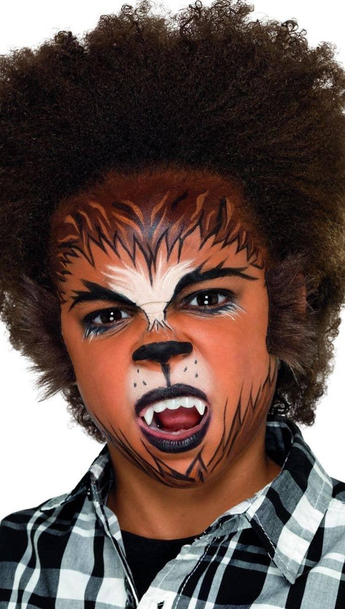 Kids Werewolf Costume Makeup Kit Halloween Costume Accessories