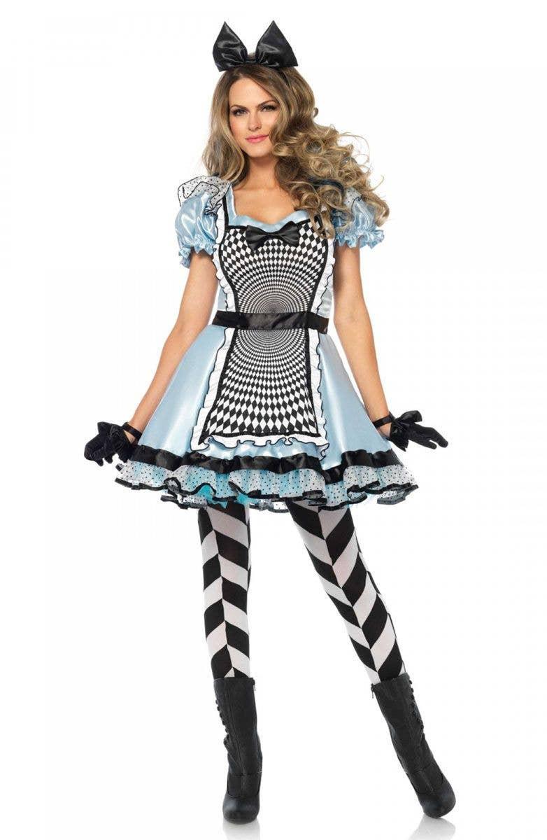 Pirate Captain Ladies Fancy Dress Wonderland By Leg Avenue Adults Womens Costume