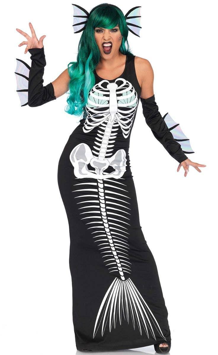 Kids/' Skeleton Mermaid Girls Cosplay Costume Free shipping in US