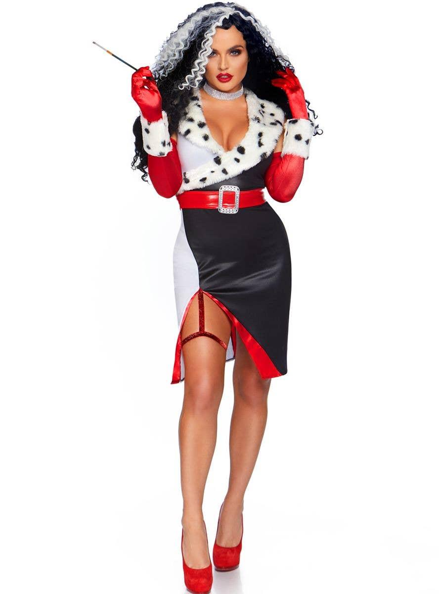 Devilish Diva Sexy Halloween Costume | Cruella de Vil ...