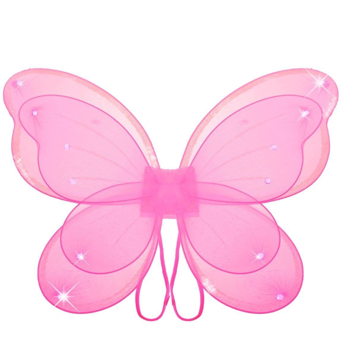 Fairy Wings Princess Pretty Sparkle Glitter