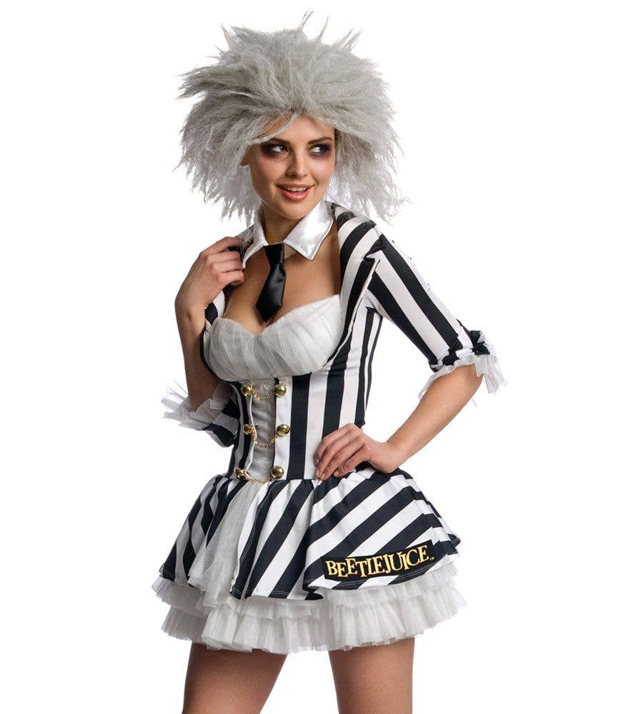 Sexy Miss Beetlejuice Halloween Costume Women S Beetlejuice Costume