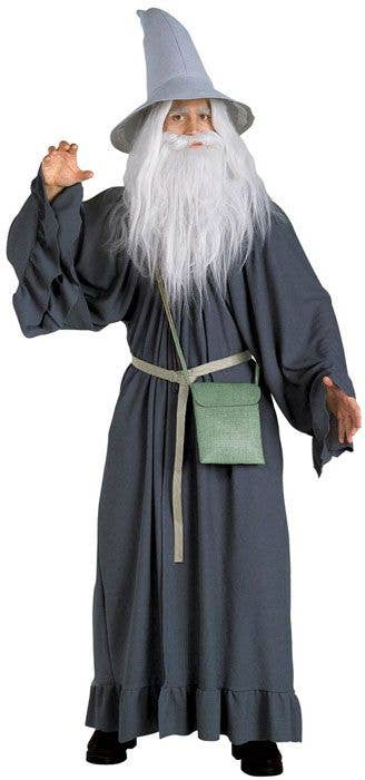Gandalf White Wig and Beard Lord of the Rings Adult Halloween Costume