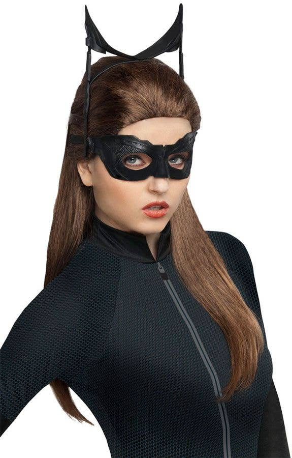 LICENSED CATWOMAN DARK KNIGHT RISES CHILD GIRLS FANCY DRESS HALLOWEEN COSTUME