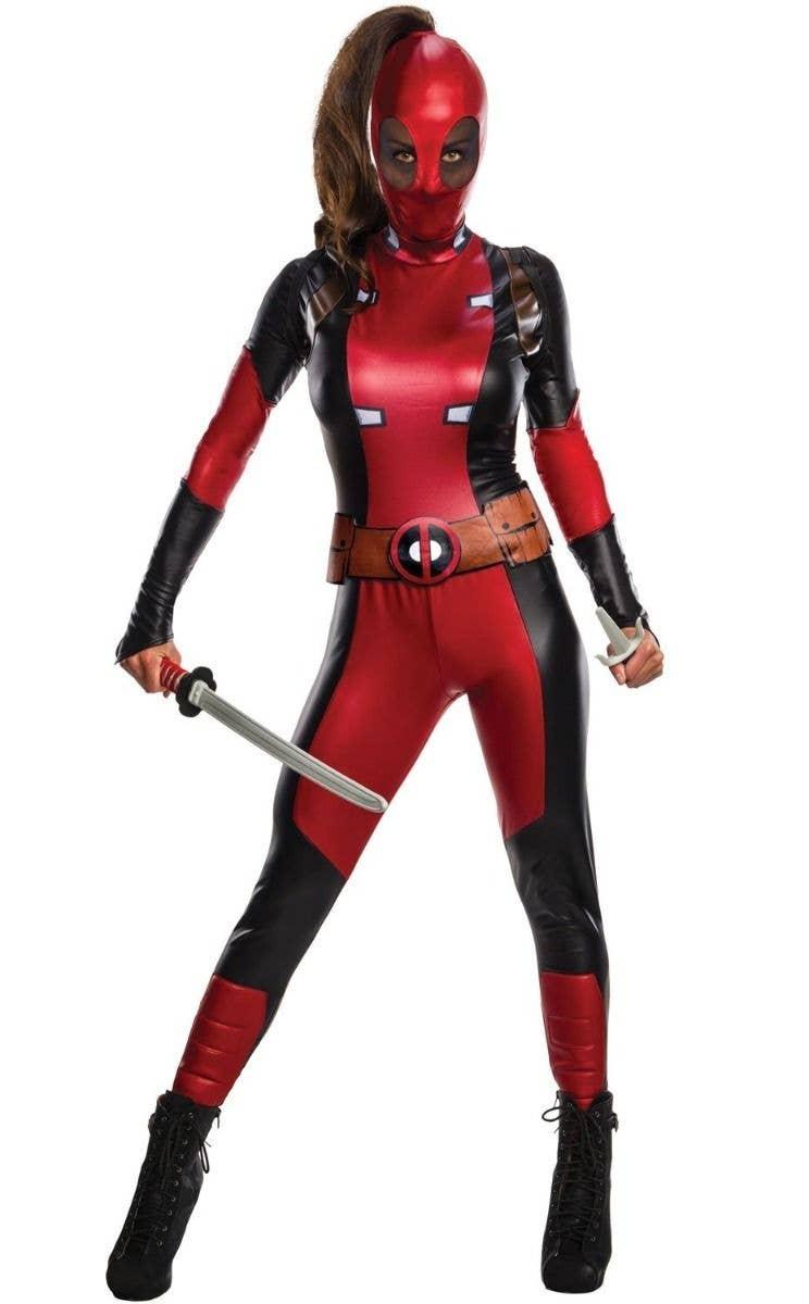 Red Rubies Deadpool Deluxe Teen Costume