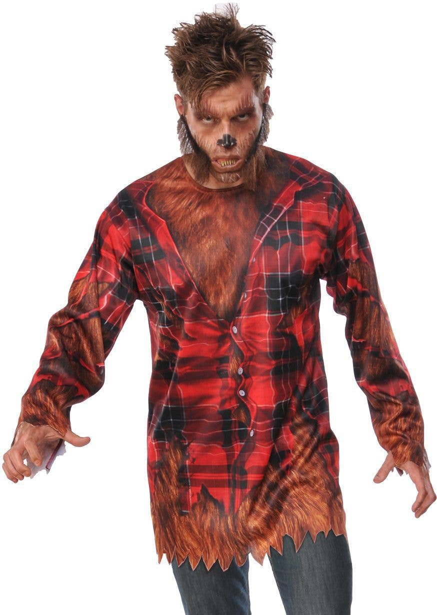 Part-Time Werewolf Toddler T-Shirt Scary Horror Fiction Halloween
