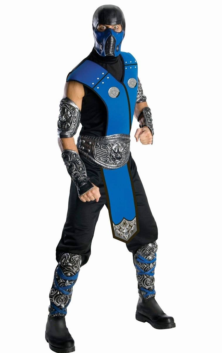 Ninja Age 5 6 7 Sub Zero Japanese Boys Fancy Dress Child Kids Halloween Costume