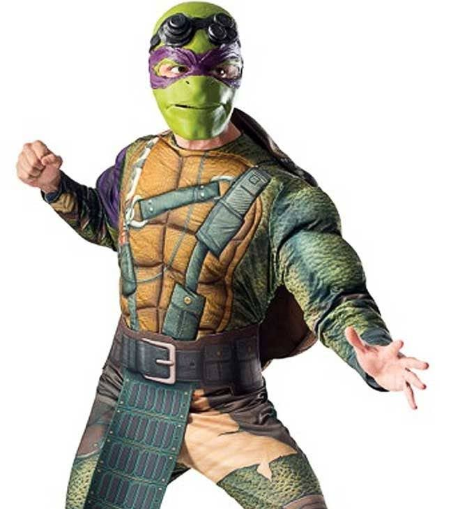 Donatello Mutant Ninja Turtle Costume Men S Tmnt Donatello Outfit