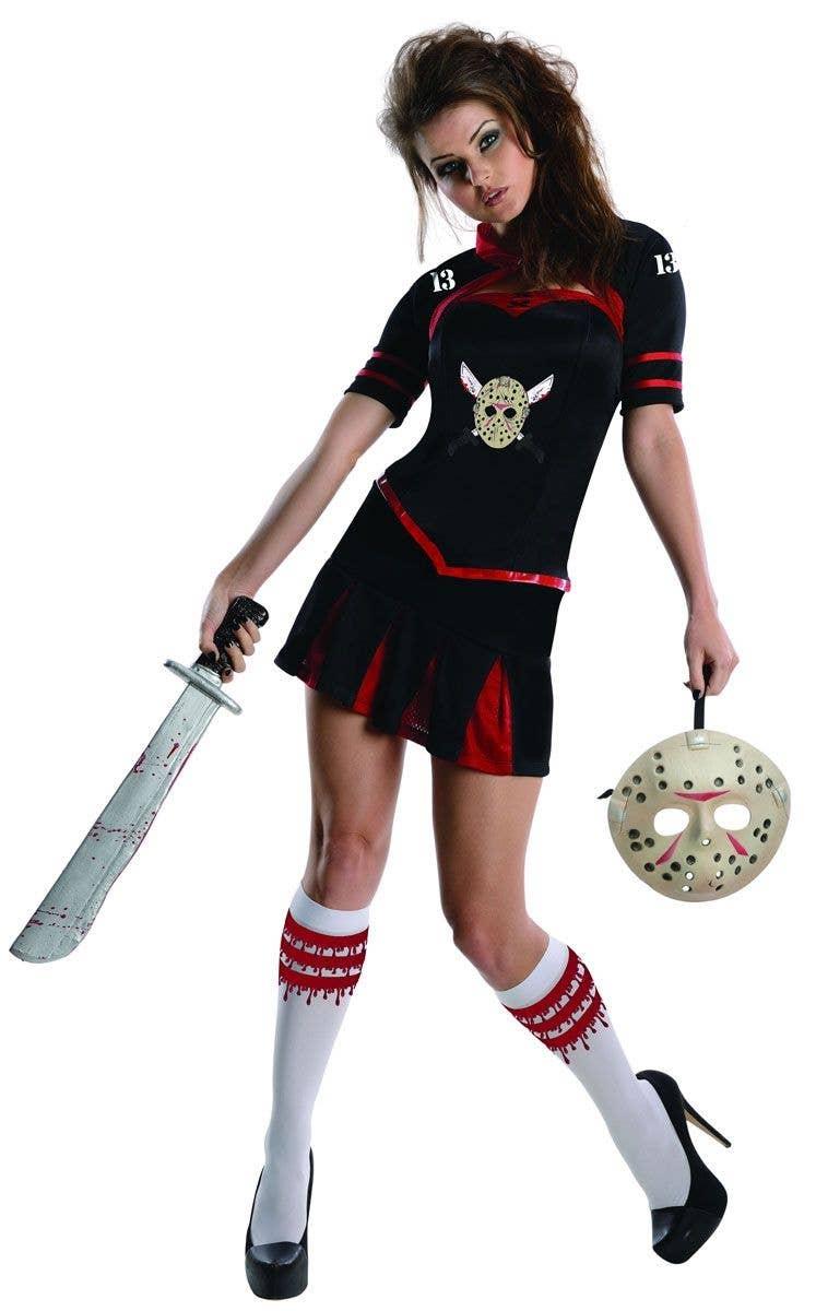 Womens Halloween Jason Style Hockey Costume