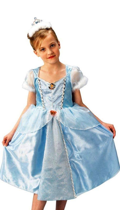 cinderella girls costume deluxe cinderella disney princess dress cinderella deluxe princess girls costume