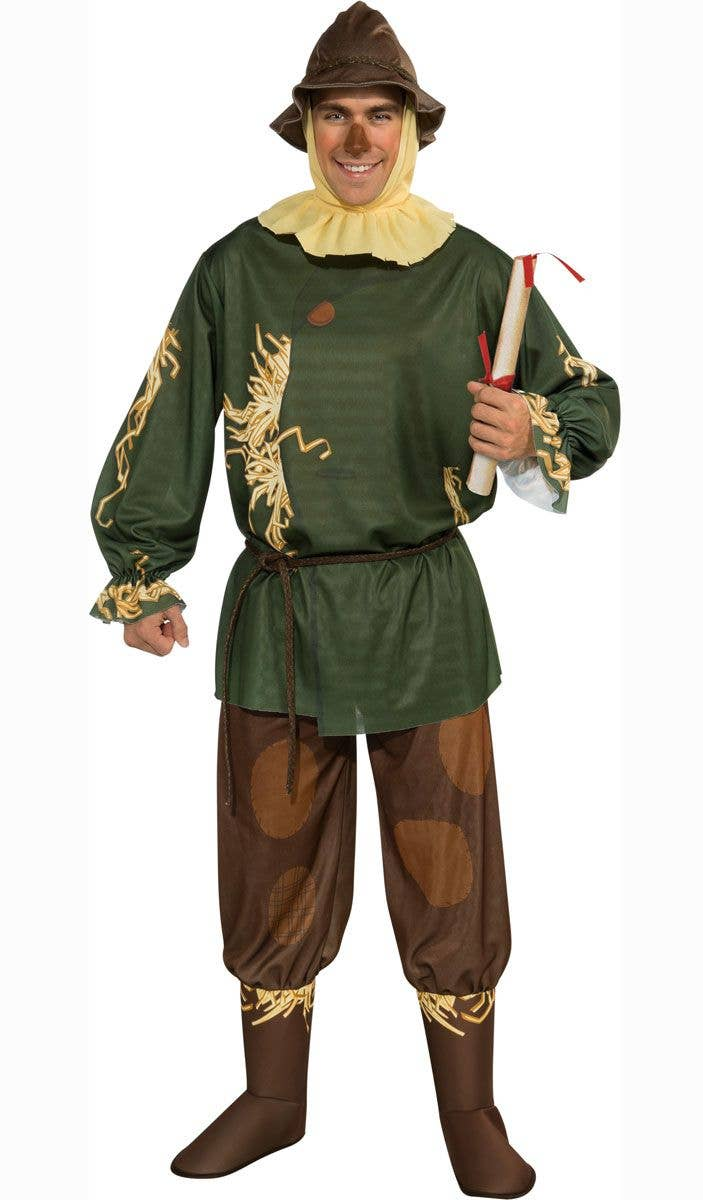 SCARECROW WIZARD OF OZ ADULT MENS LICENSED FANCY DRESS HALLOWEEN COSTUME