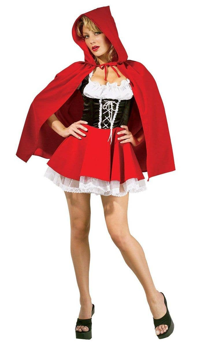 Red Riding Hood Sexy Costume Little Red Riding Hood Costume