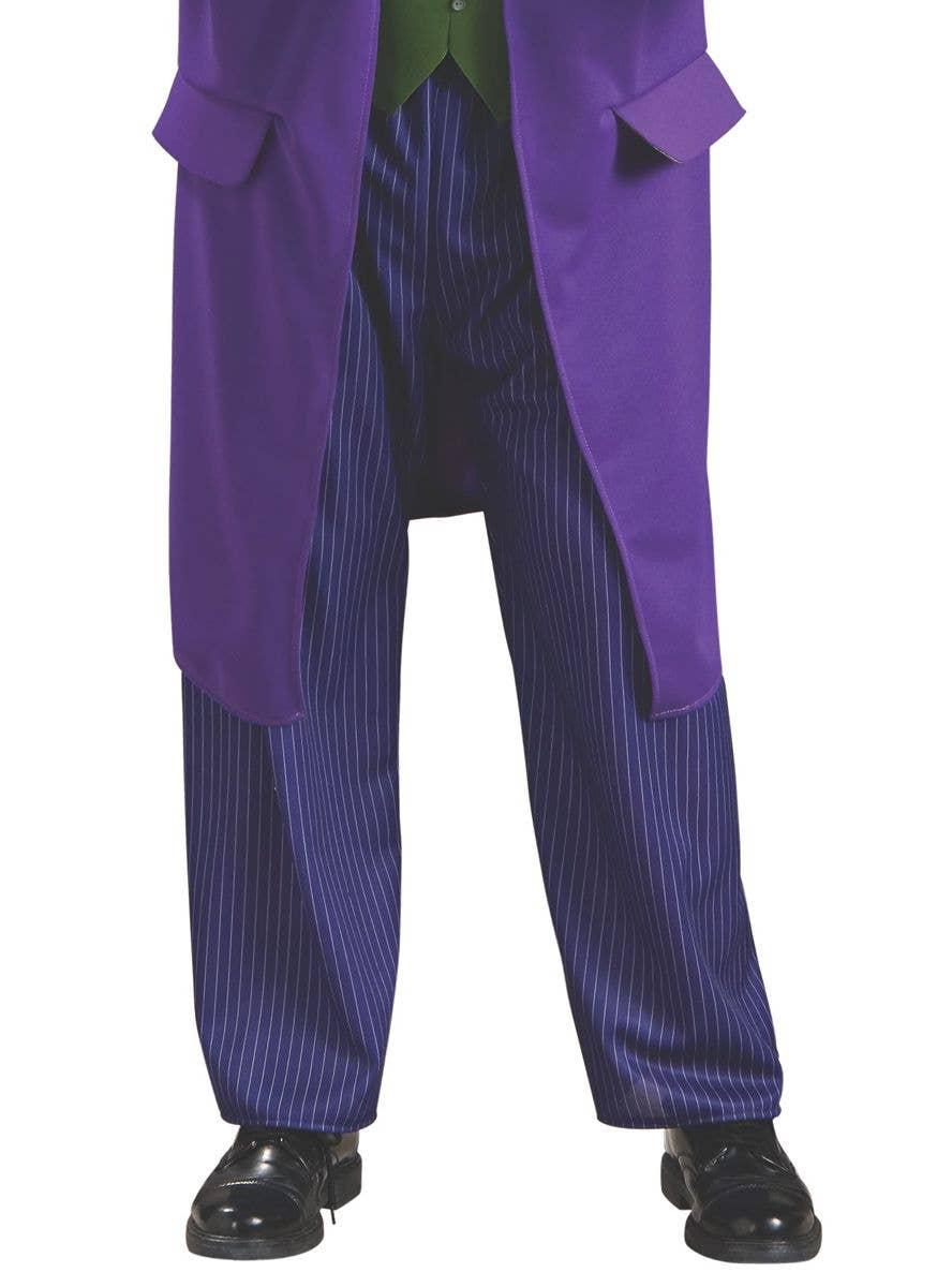 Deluxe The Joker Costume Batman Villian Men/'s Halloween Fancy Dress Costume New