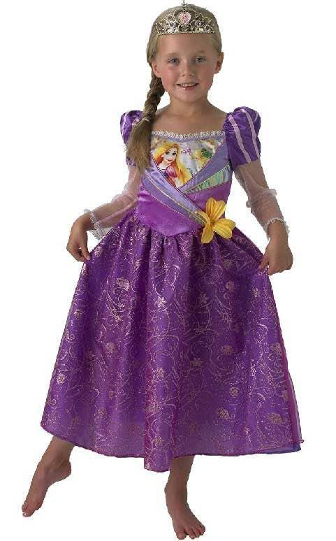 Rubie/'s Disney Princess Rainbow Rapunzel Frozen Costume For Girls Aged 3-4 /& 7-8
