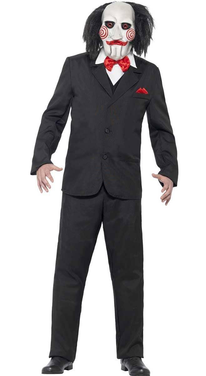 Demented Surgeon Killer Doctor Lab Coat Fancy Dress Up Halloween Adult Costume