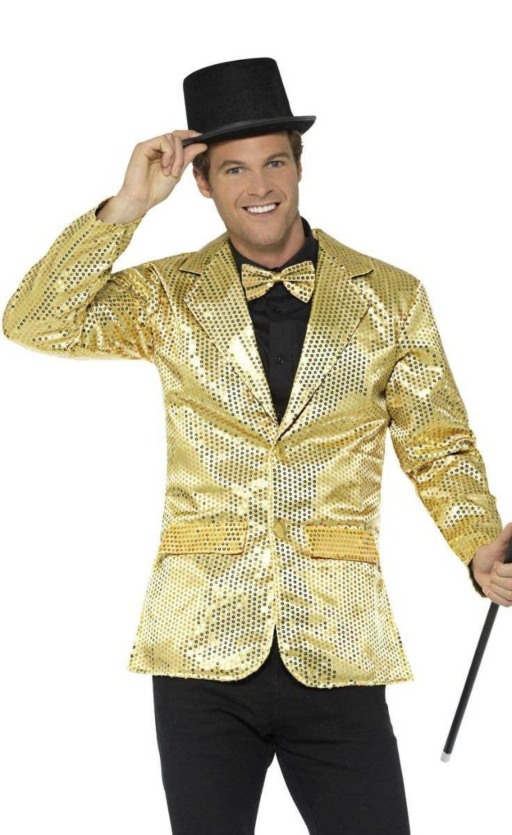 Sequin Satin Tie Fancy Dress Stage Tap Dance Gangster Magic Clown NEW