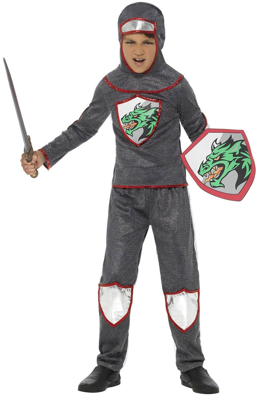 Boy Boys Crusades Knight World Book Day Fancy Dress Costume Various Sizes