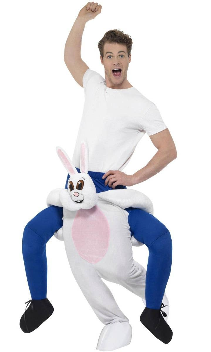 Smiffy/'s Easter Bunny Rabbit Adult Costume with Hood Size Large