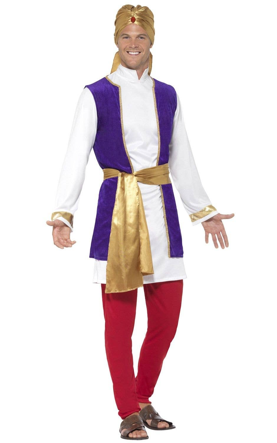 Kids Boys Arabian Prince Book Day Outfits Fancy Dress Halloween Cosplay Party